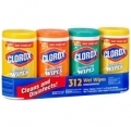 90118 Clorox Disinfecting Wipes Variety 4/78ct